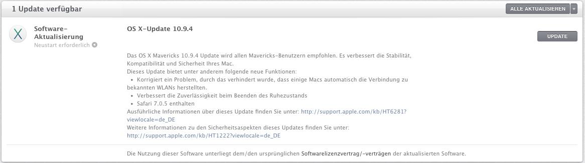 Mac-OS-X-10.9.4-Update-verfuegbar