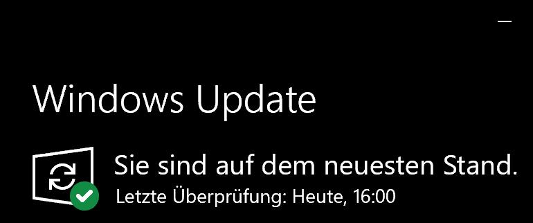 Windows 10 Update Version 1903