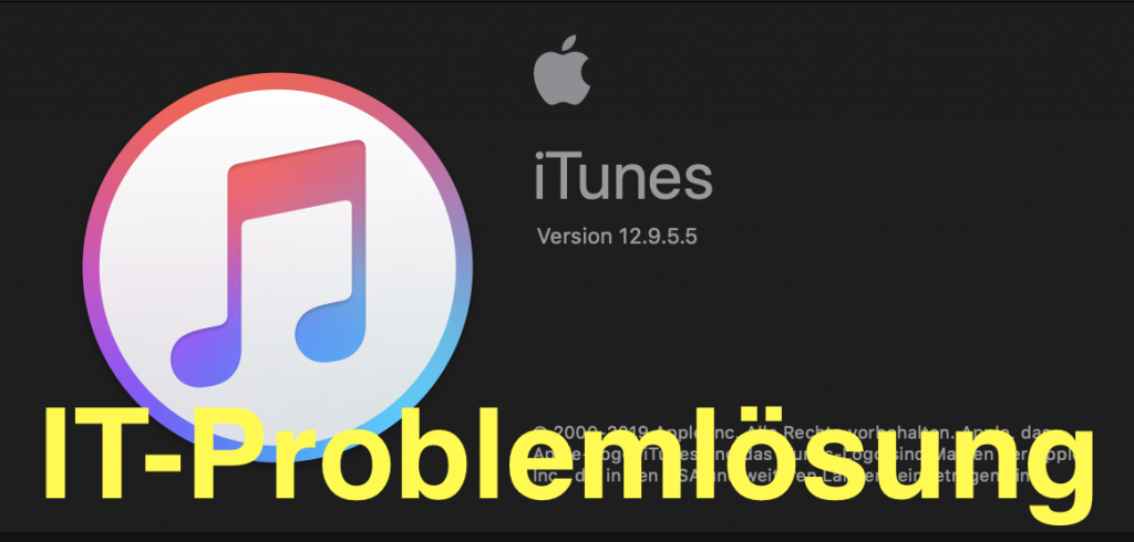 iTunes installieren IT-Problemloesung